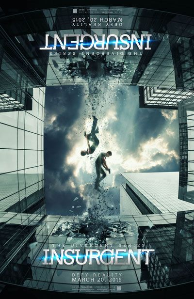 The Divergent Series: Insurgent Movie Trailer and Poster #insurgent #trailers #posters