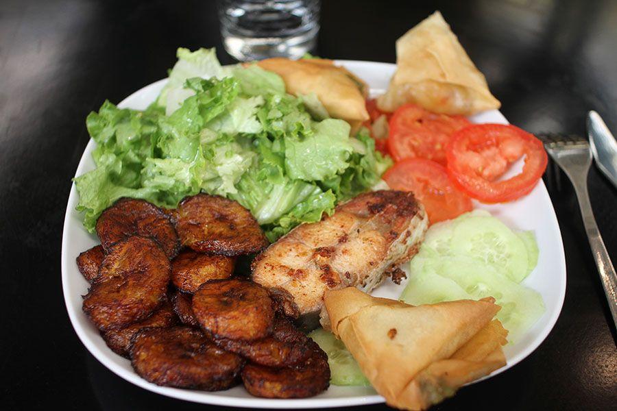 Oh Africa Restaurant Africain Situe Dans Le Marche Saint