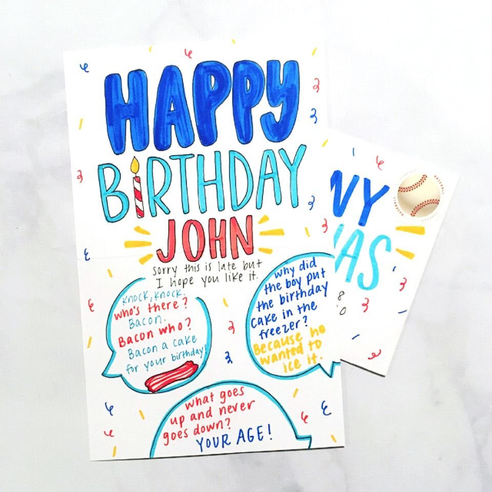 A Well Written Personal Birthday Card Is Obvi The Best Way To Send Wishes And While There Is A Time Birthday Card Messages Birthday Cards Funny Birthday Cards