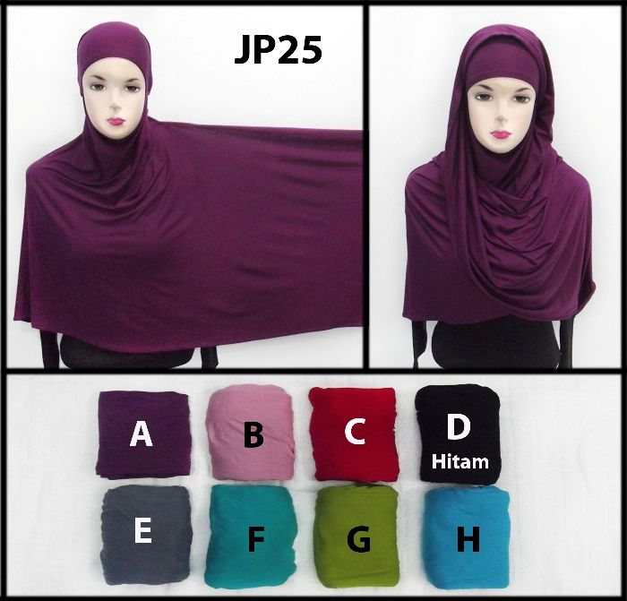 Jilbab Pashmina Ninja Jp25 Pashmina Polos Bahan Kaos Adem Menyatu Dengan Inner Ninja Harga Ecer Rp 38 000 Minimal 3 Items Rp 35 000 Minimal Hitam