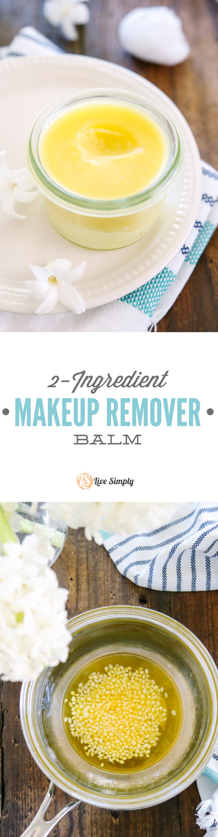 2Ingredient Makeup Remover Balm Live Simply Recipe