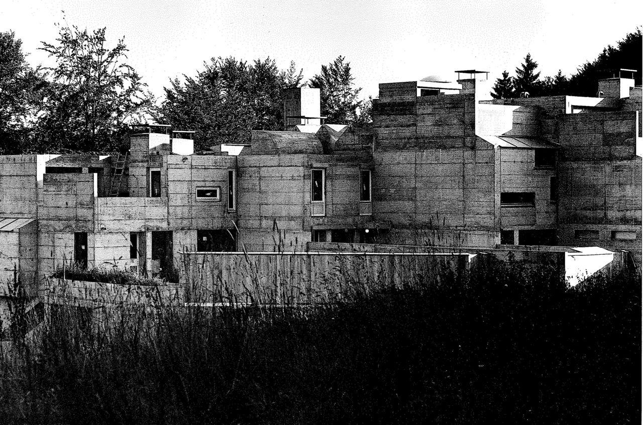 siedlung thalmatt 1 switzerland atelier 5 1967 72. Black Bedroom Furniture Sets. Home Design Ideas