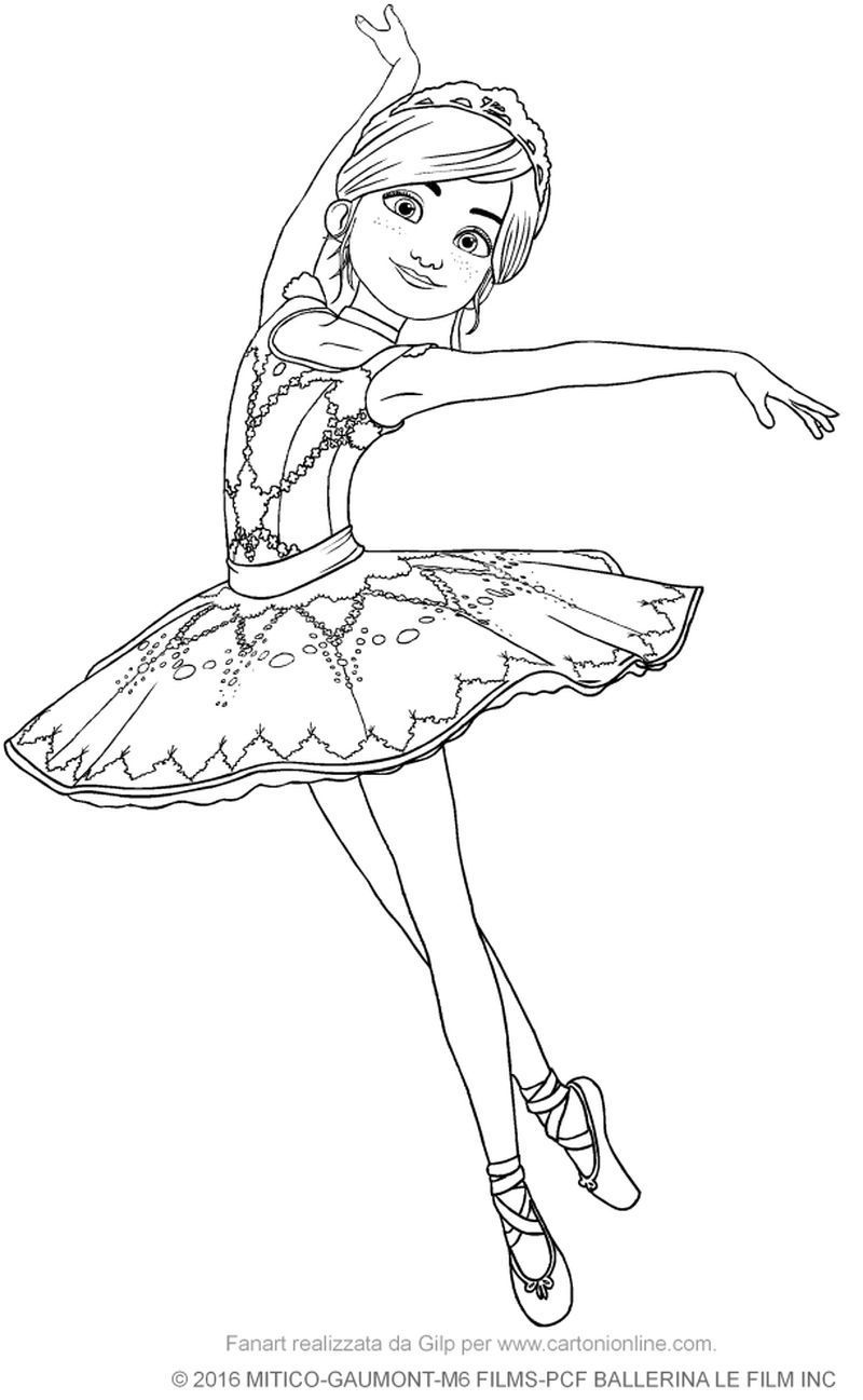 Cute Ballerina Coloring Pages Ideas   Dance coloring pages ...