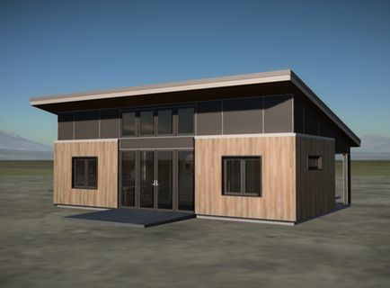 Sips sheds modcab homes feature structural insulated for Structural insulated panel home plans