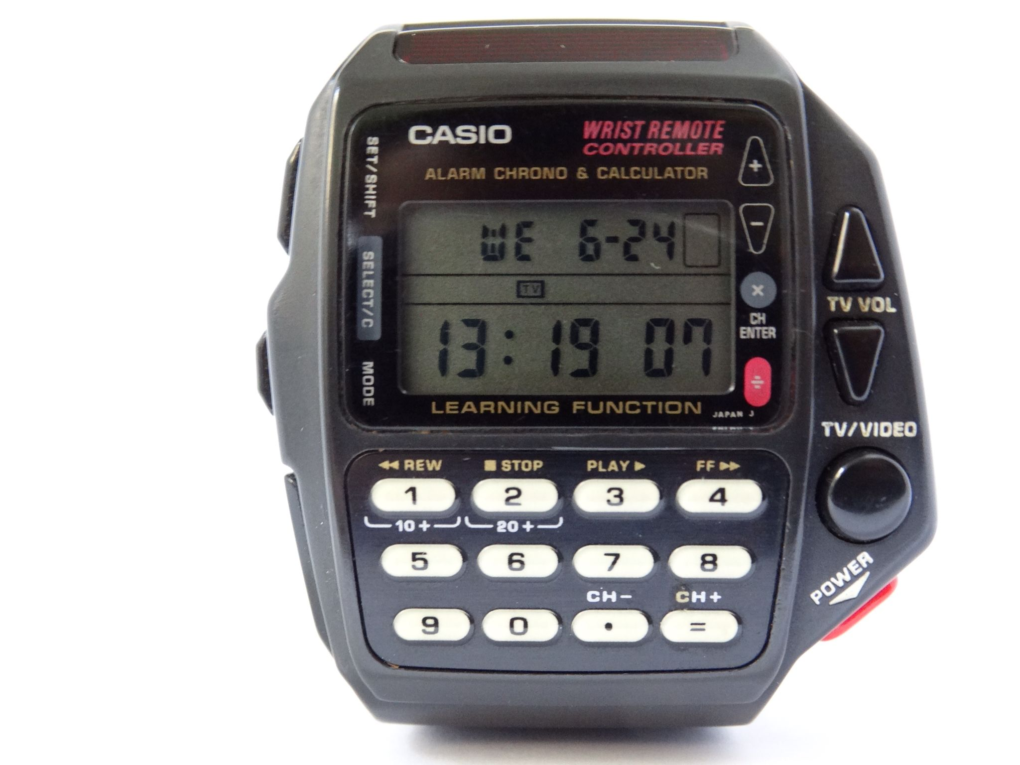 a911df7e9832 CASIO CMD-40 WRIST REMOTE CONTROLLER W  LEARNING FUNCTION CALCULATOR ...