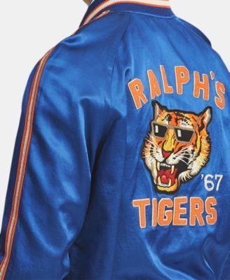 42ab0fd3ff Polo Ralph Lauren Men's Satin Souvenir Baseball Jacket - Sistine ...