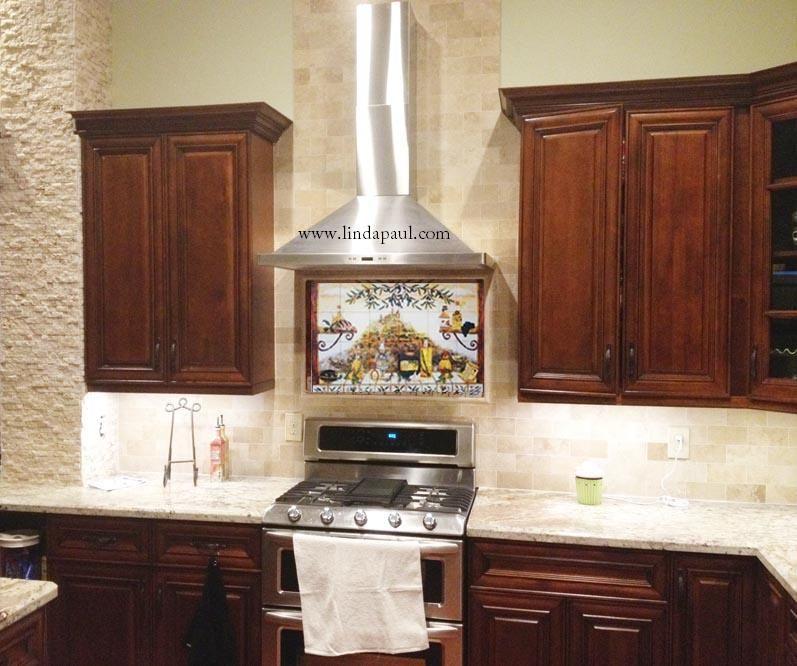 Kitchen Backsplash Ideas With Dark Wood Cabinets: Backsplash Tile Ideas With Dark Cabinets - Google Search