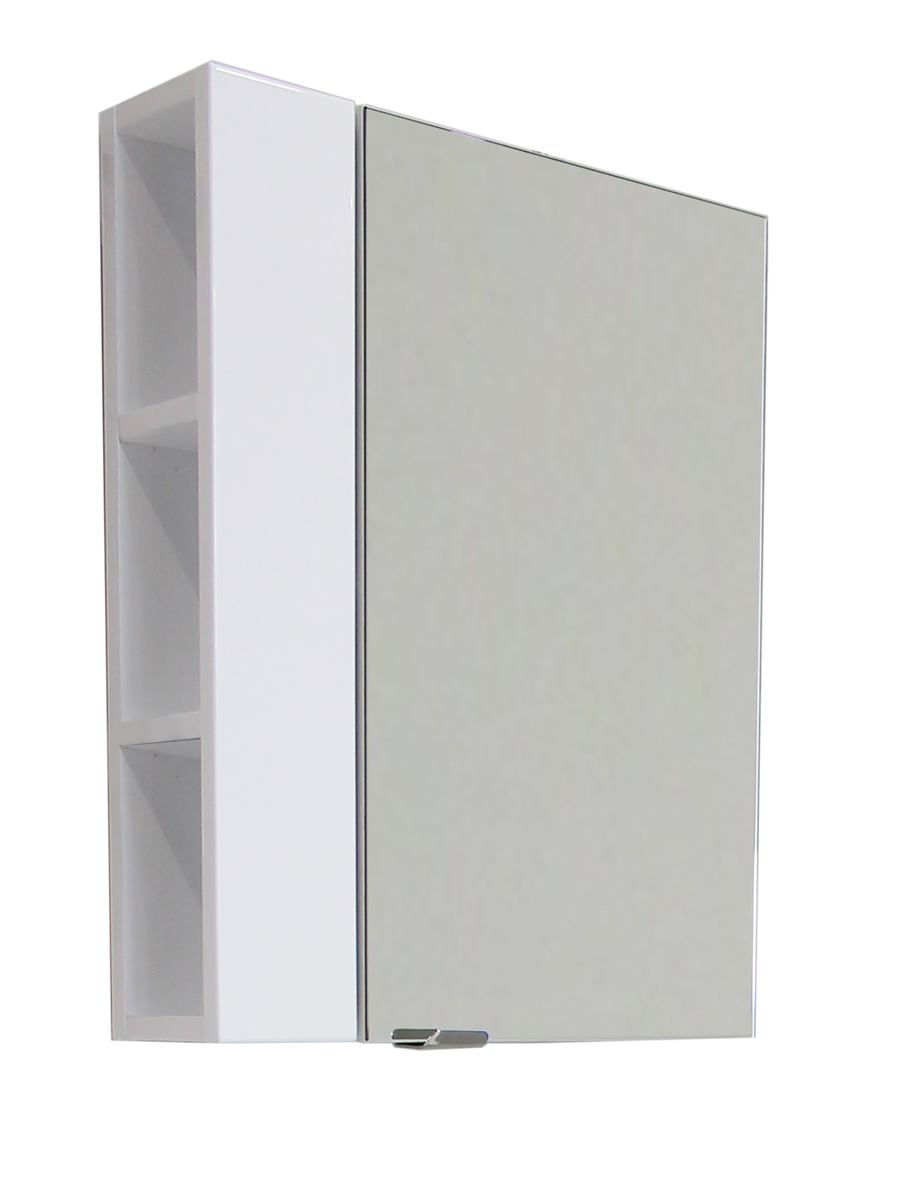 Cooke & Lewis Single Door White Lacquered Small