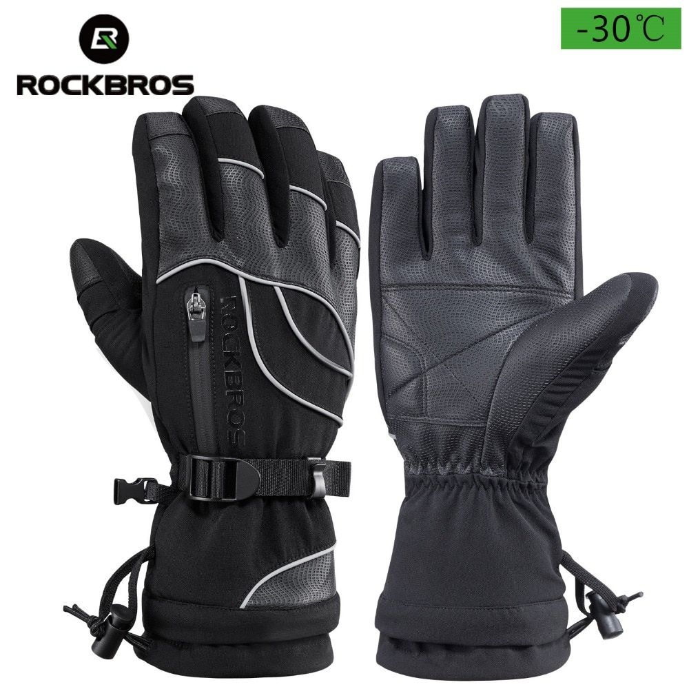 Find More Cycling Gloves Information About Rockbros Bike Winter Gloves Waterproof Insulated Gloves Mens Ther Gloves Winter Insulated Gloves Cold Weather Gloves