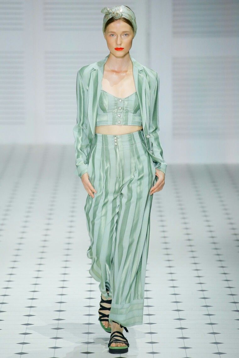 Spring Fashion Trends 2020.Mint The Spring Summer 2020 Colour Trend Summer Fashion