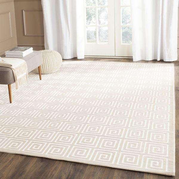 safavieh paradise cream/ cream viscose rug (8' x 10') | backsplash