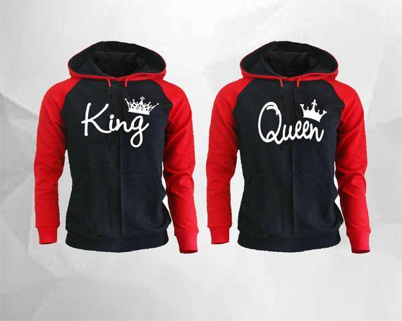 c617163f908eb King Queen Hoodie King Queen Raglan Hoodie King by buyfor247