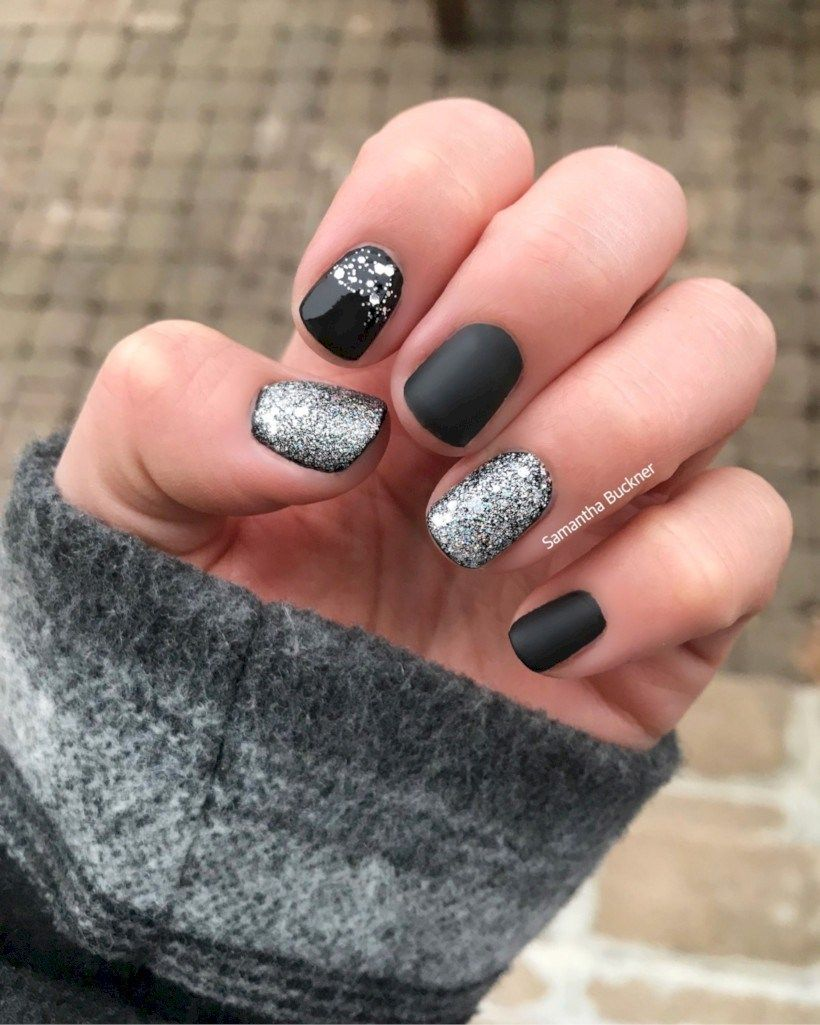 Unique Short Nail Art Design To Try This Winter 16 Nail Art