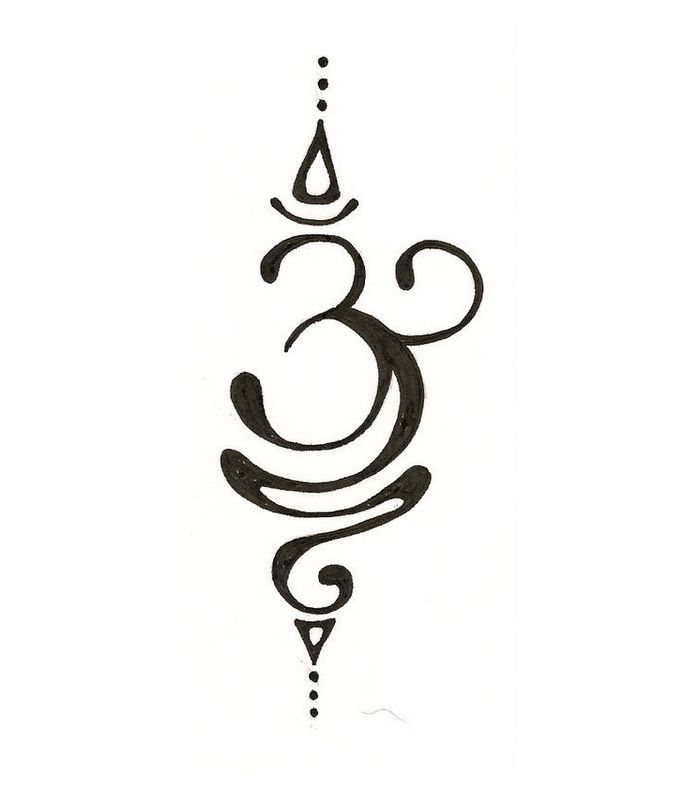 Beautiful Om This Would Make A Cool Tattoo I Want To Do This On A