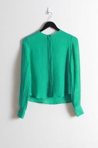 Bassike: Hidden Placket Shirt - was $295 now $180