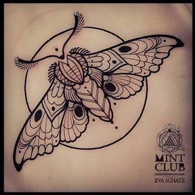 Idea By Bộ đinh On Butterfly Dragon Inspirational Tattoos Sleeve Tattoos Moth Tattoo