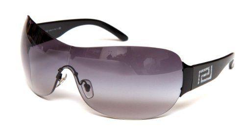 032a59193b Versace 2108 100911 Black 2108 Visor Sunglasses Lens Category 2 Versace.   240.26