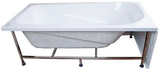4 Foot Bathtub, 1200 Bathtub, Small Baths 1200 With Stainless Stell Bracket