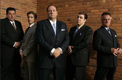 Sopranos Tony Soprano Los Soprano Cine