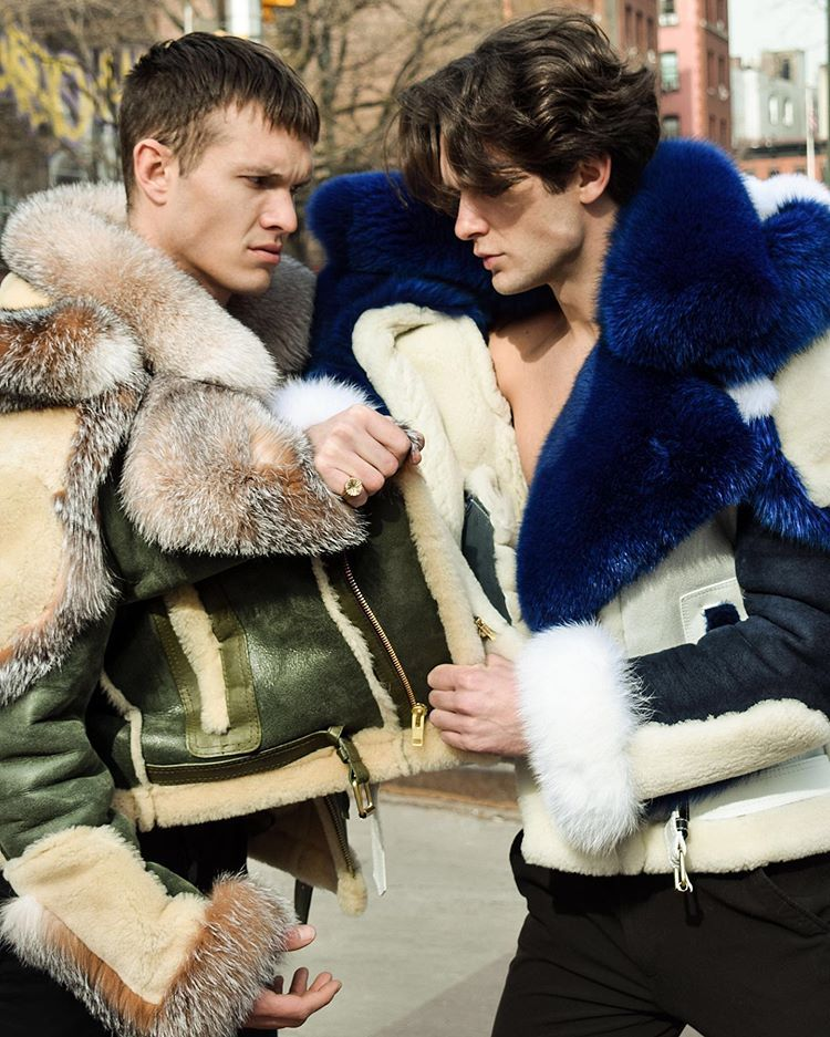 Pin By Ted M On Men In Fur / Shearling In 2020 (With