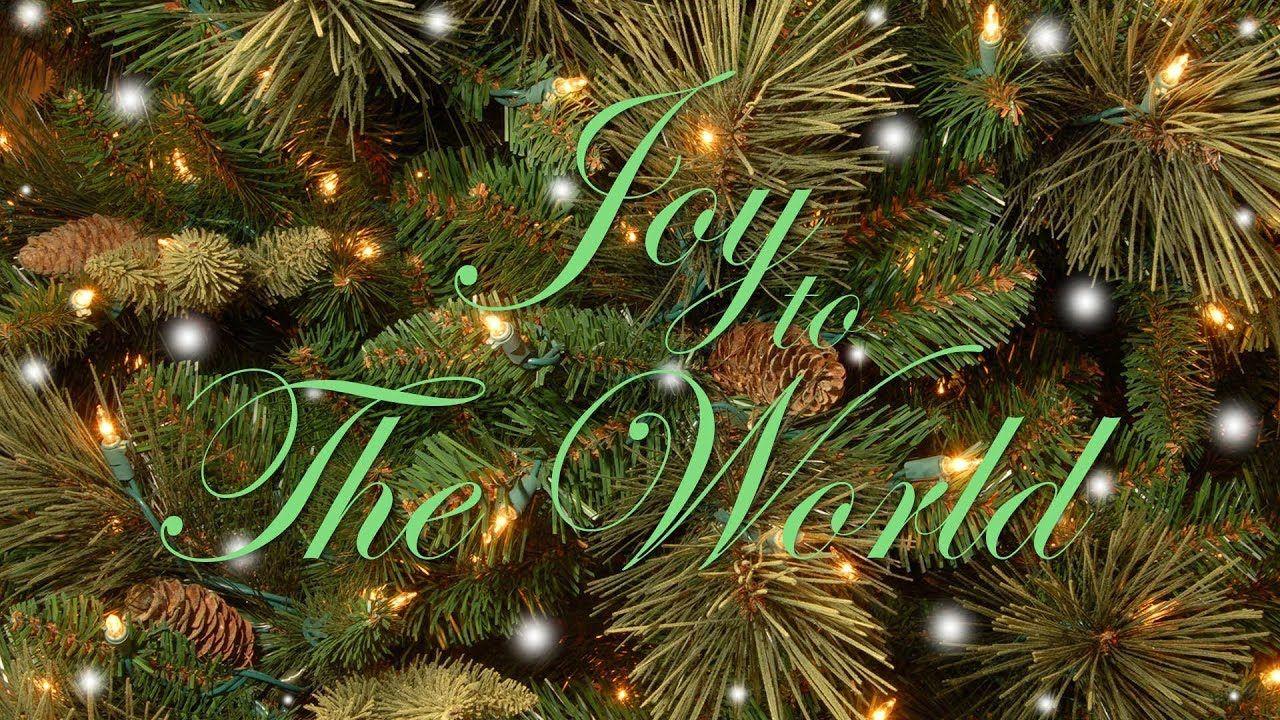 Joy To The World with Lyrics | Popular Traditional Christmas Song and Carol