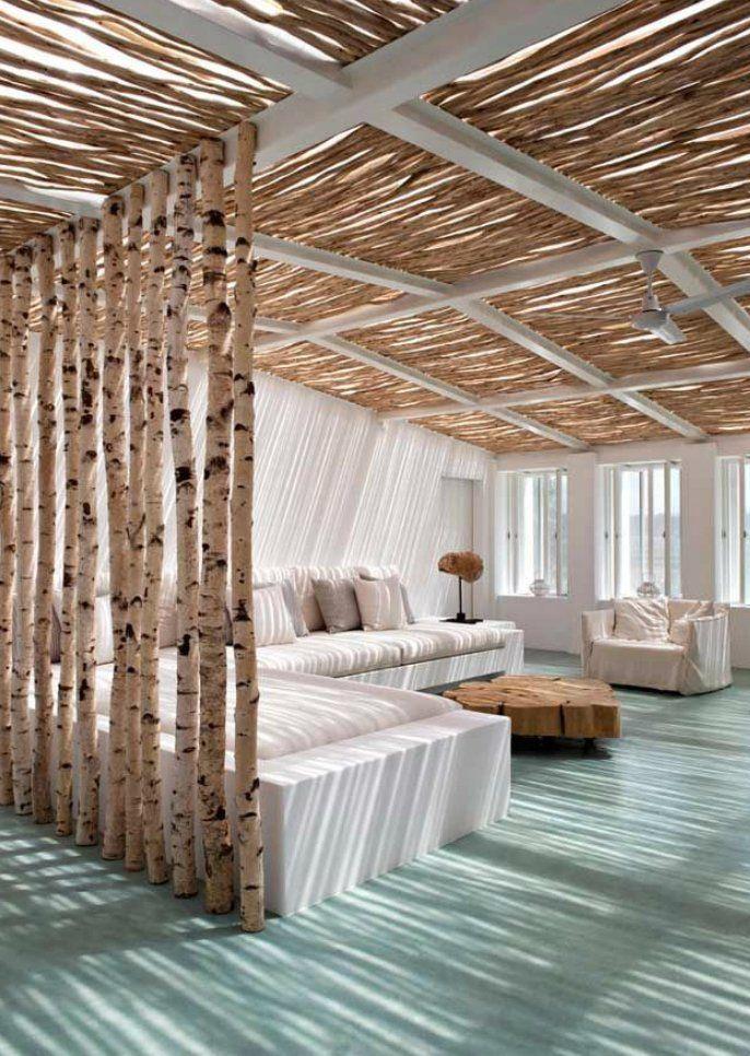 Raumteiler Ideen Wohnzimmer - Schlafzimmer Einrichten Ideen