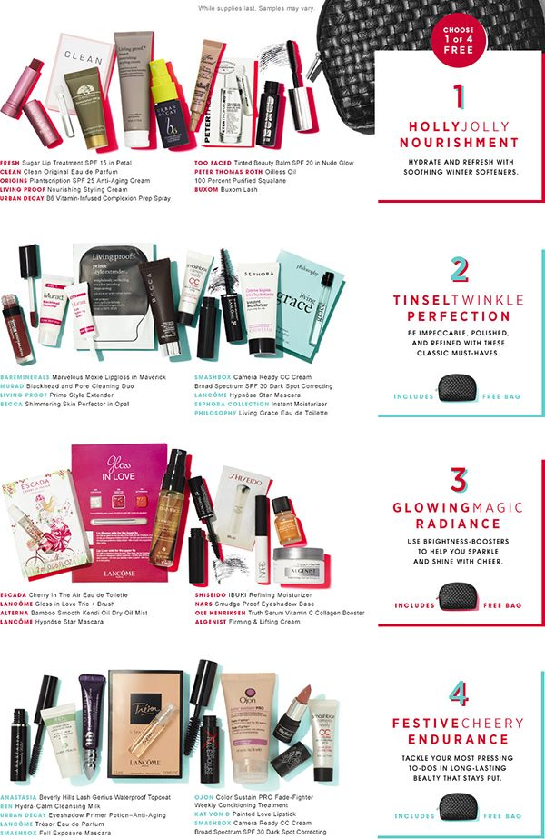 How to Get a FREE Gift Bag from Sephora | Free gifts and Bag
