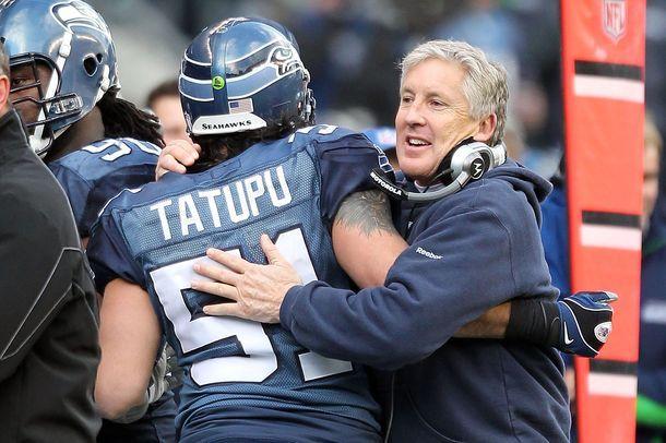 Lofa Tatupu Hired As Seahawks Coach Seahawks Team Seahawks Seahawks Baby