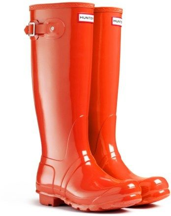685bcd27a01 Original Tall Gloss Rain Boots - Women's | shoes | Hunter rain boots ...