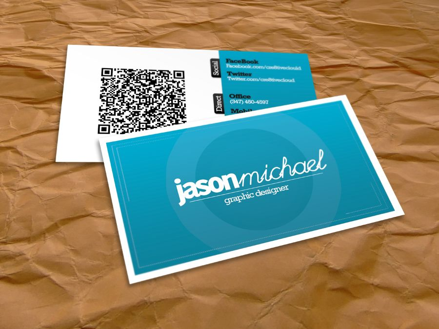 Clean Business Card Design by ~Cre8tiveCloud on deviantART http ...
