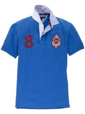 Tommy Hilfiger New York Poloshirt Blau Poloshirt Shirts Polo