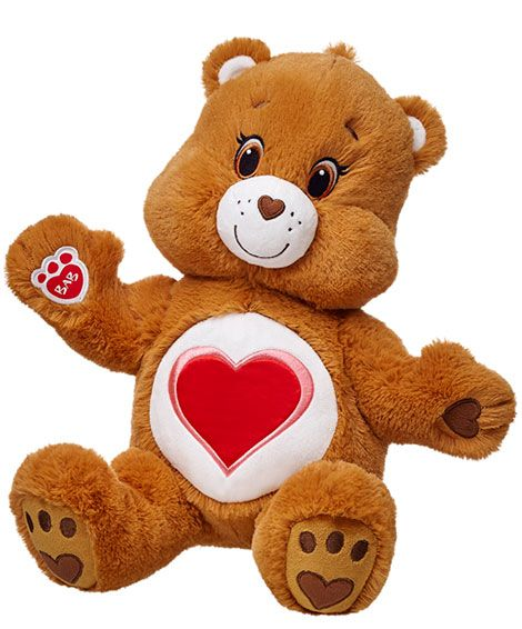 Care Bears Tenderheart, now at Build A Bear! | Care Bears Wishlist ...