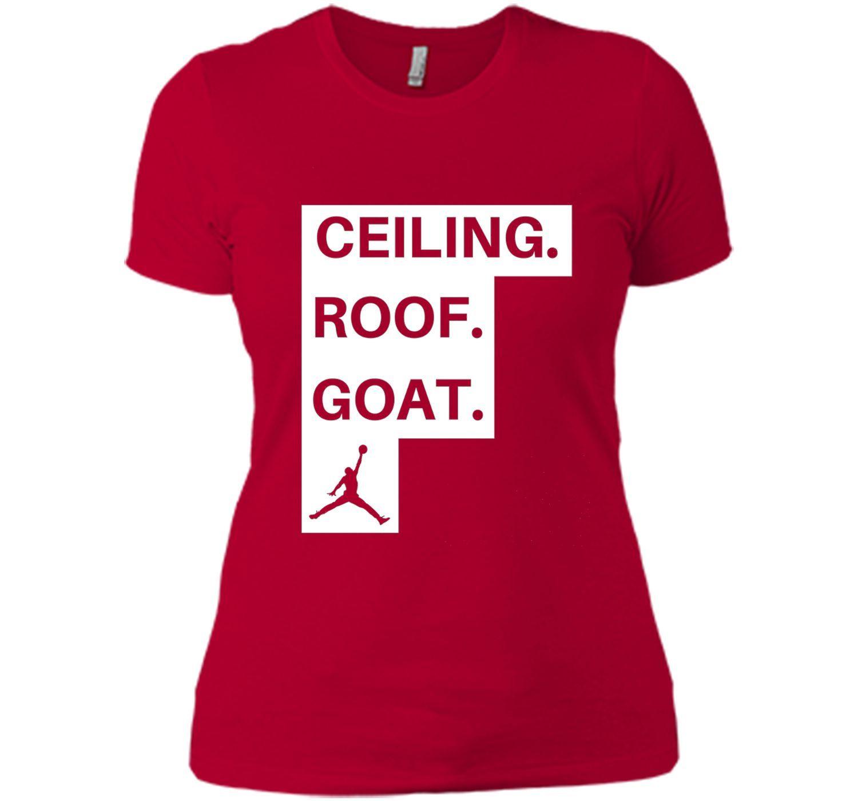 ceiling roof goat shirt