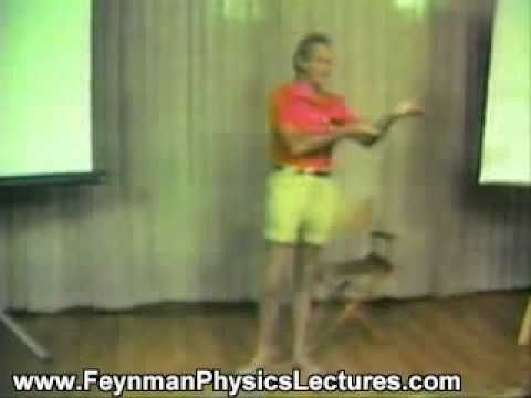 Richard Feynman Physics Video Lectures - YouTube