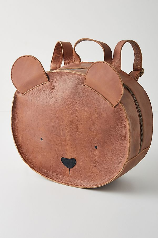 Donsje Umi Bear Backpack By In Brown Kids At Anthropologie