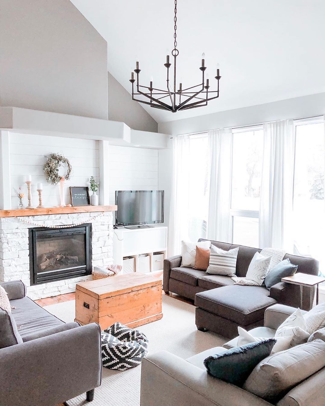 Still Swooning Over This Pretty Living Room Featuring Our Glasgow