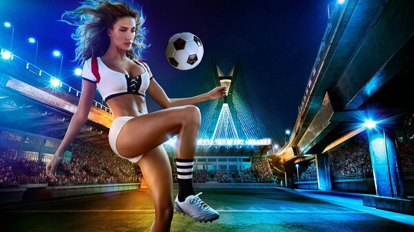football picture hd: Sport Football Girl Wallpaper