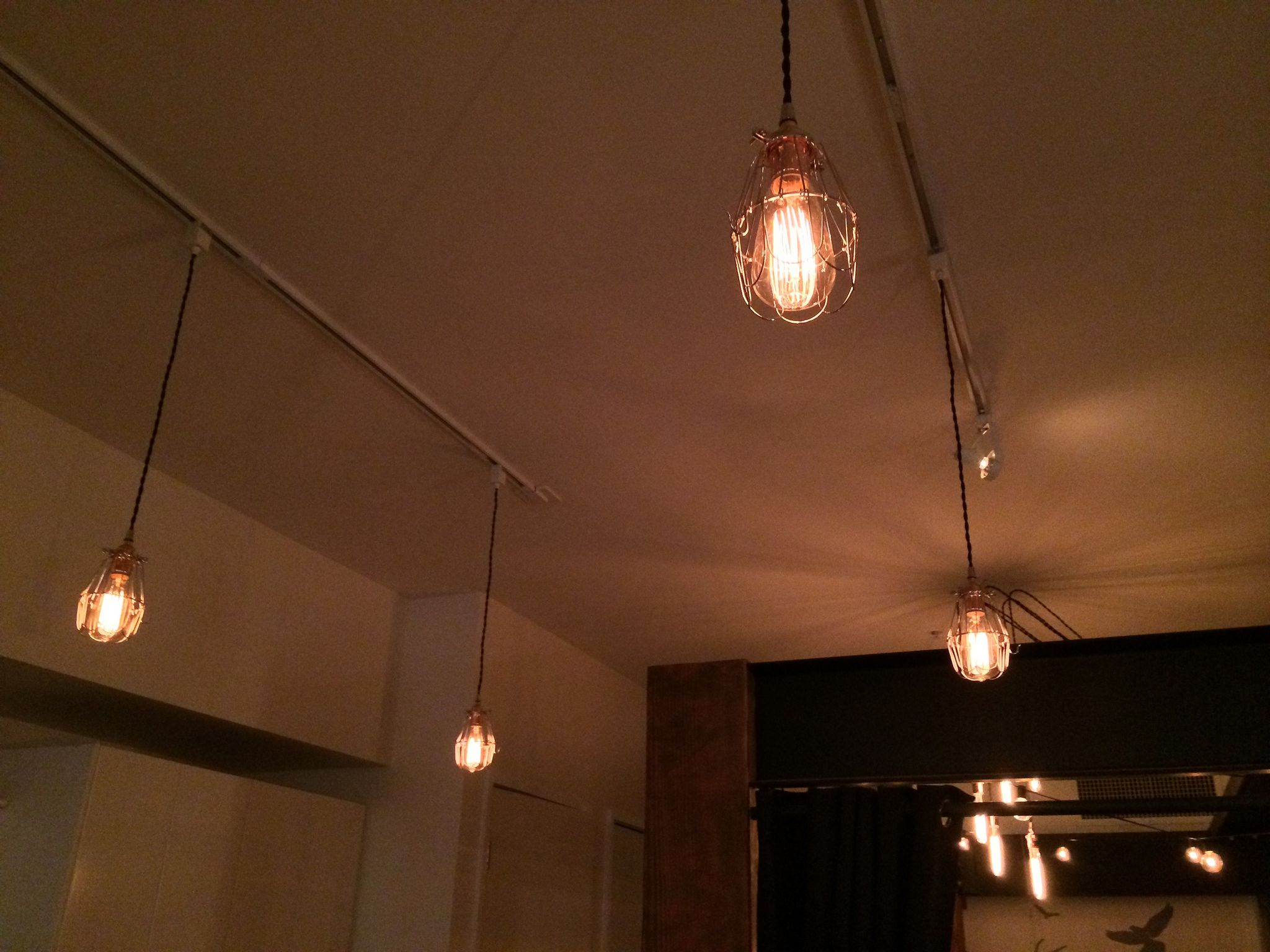 Easy Fix Boring Old Track Lighting Turned Into Awesome Vintage