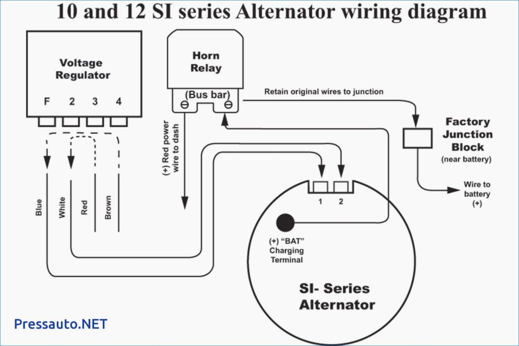 Single Wire Alternator Chevy Voltage Regulator Circuit Ac