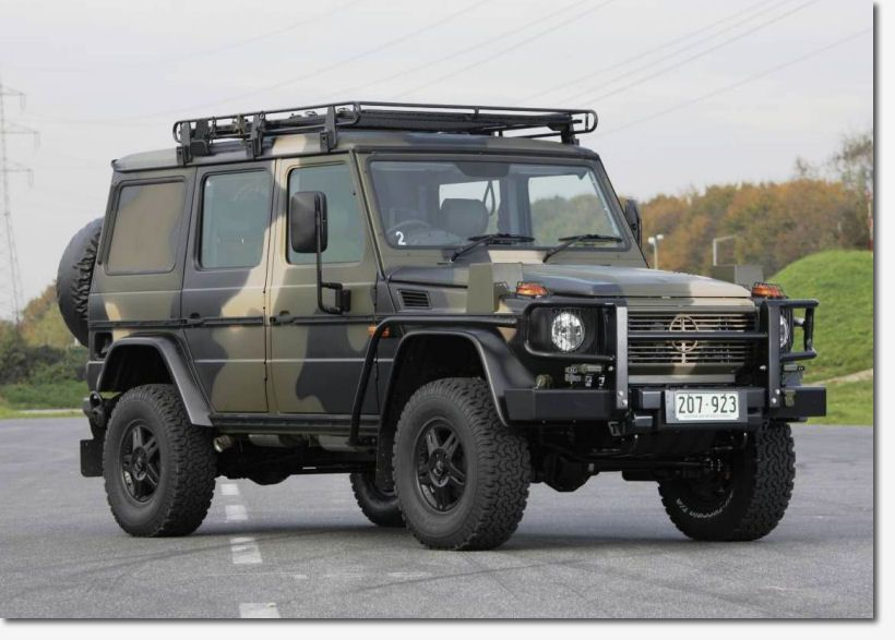 Merc g wagon australian prototype off road kit for Mercedes benz g class off road