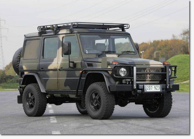Merc G wagon - Australian prototype | Off road kit | Pinterest ...