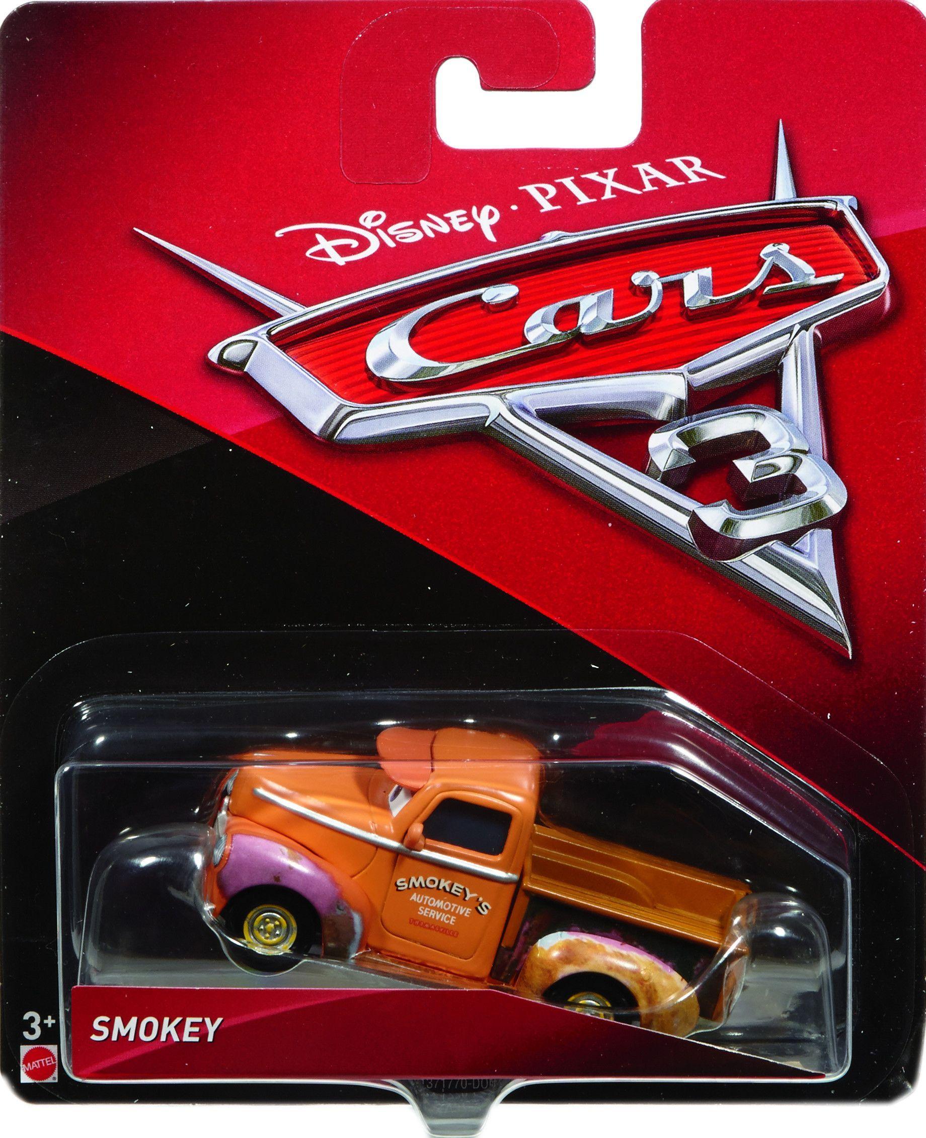 Cars 3 Diecast 1 55 Scale Smokey Disney Cars Toys Disney Cars