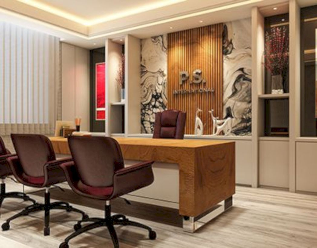 Modern Style Director Room Interior Design Decorating Office