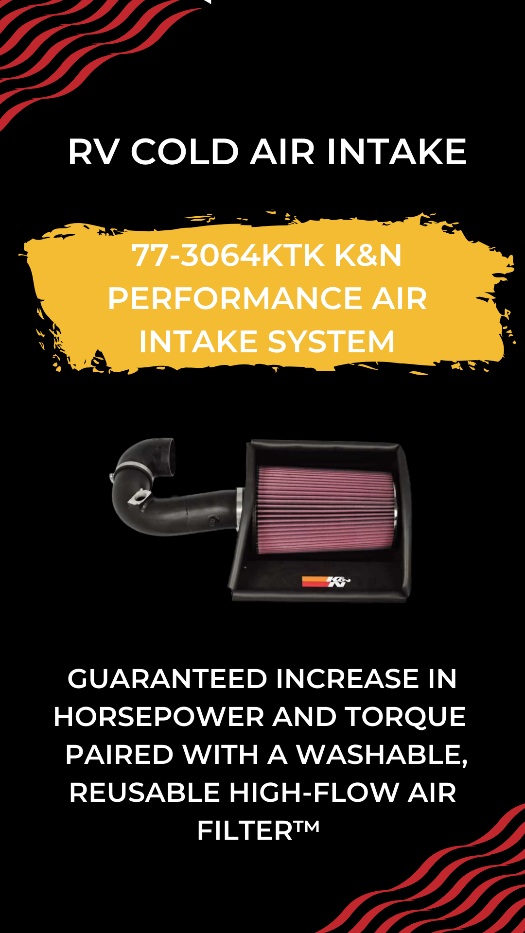 Gain a guaranteed increase in horsepower and torque with a