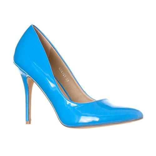 Blue Wedding Shoes Pumps Womens Gaby Pointed Closed Toe