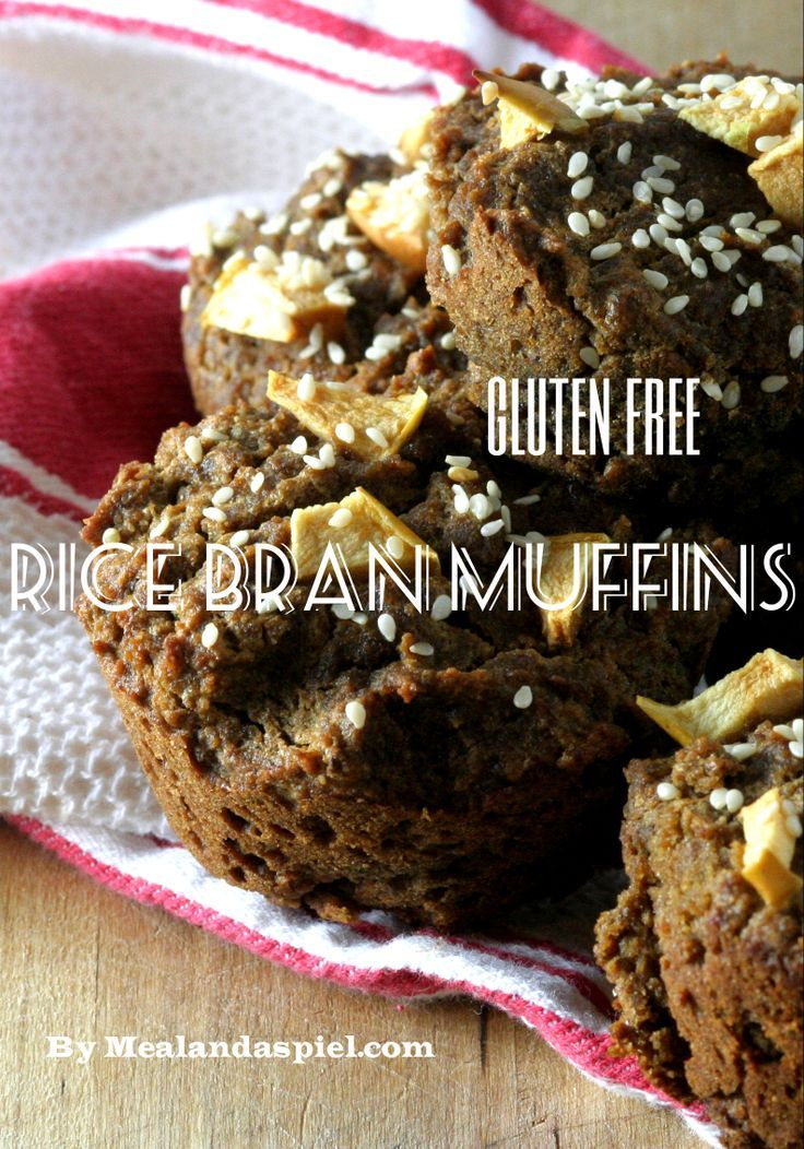 Apple cinnamon rice bran muffins in 2020 dessert recipes