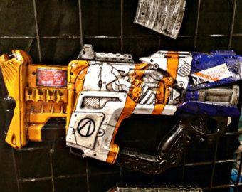 Hyperion Borderlands Inspired Nerf gun by KatofWonders on