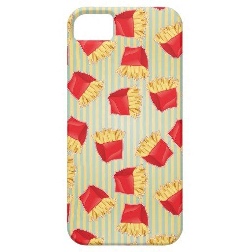 Fast Food Pattern 4 iPhone 5 Cover from Zazzle.com