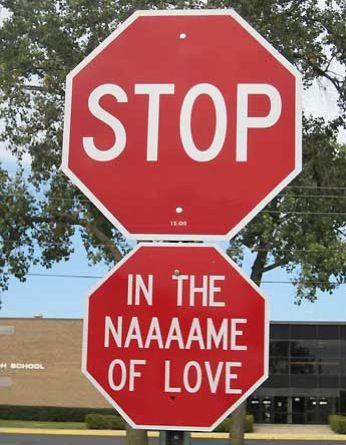 Before you break my heart... Haha