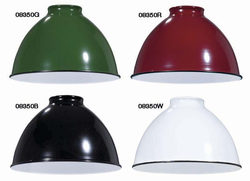 7 1/16 Industrial Style Metal Dome Shades | Antique Lamp Supply